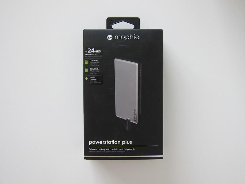 Mophie Powerstation Plus 2016 (6,000mAh) - Box Front