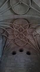 Bóveda estrellada de la catedral de Segovia