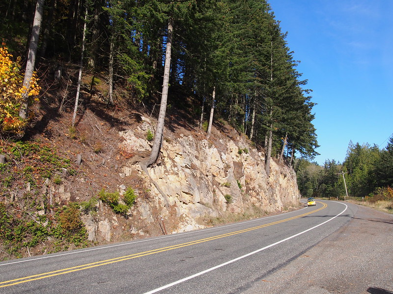 Rock Face on SR-410