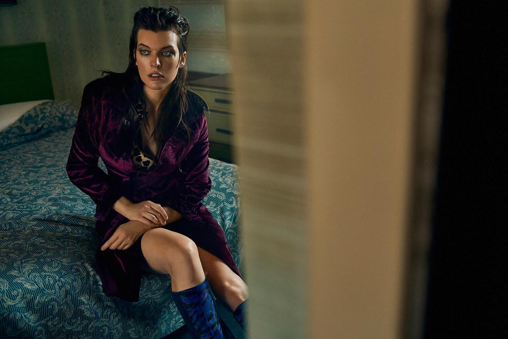Милла Йовович — Фотосессия для «Vogue» UA 2016 – 3