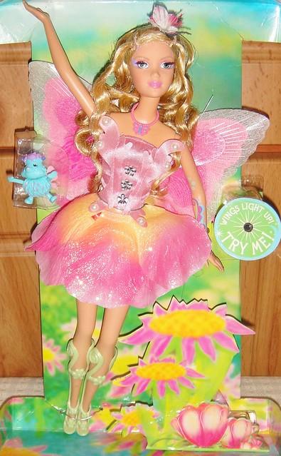 2005 Barbie Fairytopia Elina Doll (Pink Box Restyled) (2)
