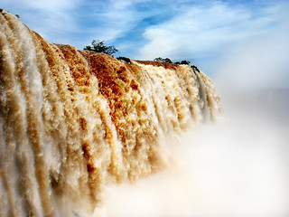 Wall of water.
