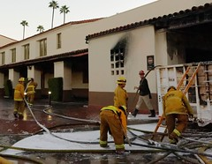 Fire Scorches Iconic L.A. Union Station