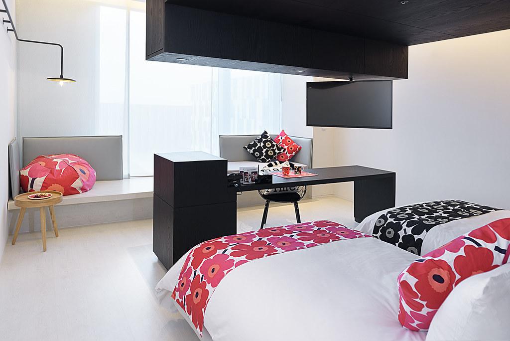【台南老爺行旅x Marimekko】Mix Mari Room風格客房
