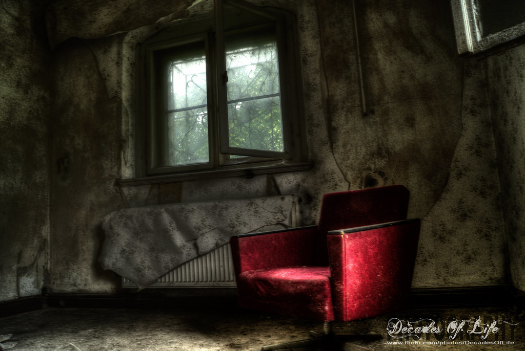 seat in the dark