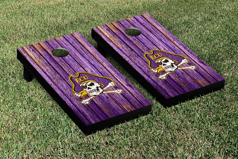 East Carolina University Pirates Weathered Version