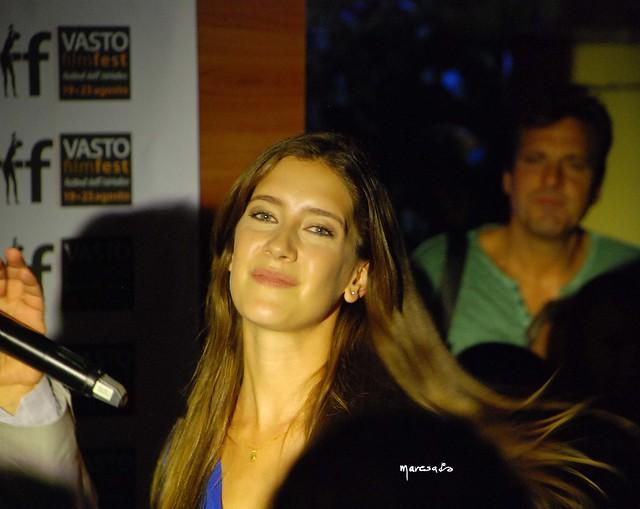 Al Vastofilmfest 2015 ospite della prima serata l' attrice argentina Maria Clara Alonso  È nota al grande pubblico per il ruolo di Angela Saramego nella soap opera Violetta