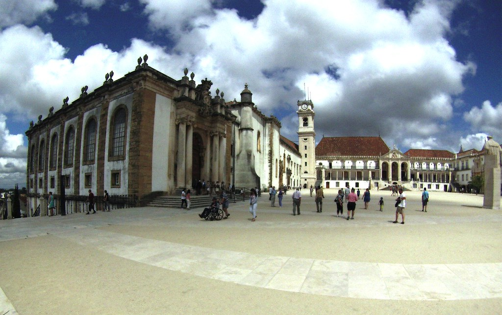 University of Coimbra is a UNESCO World Heritage Site