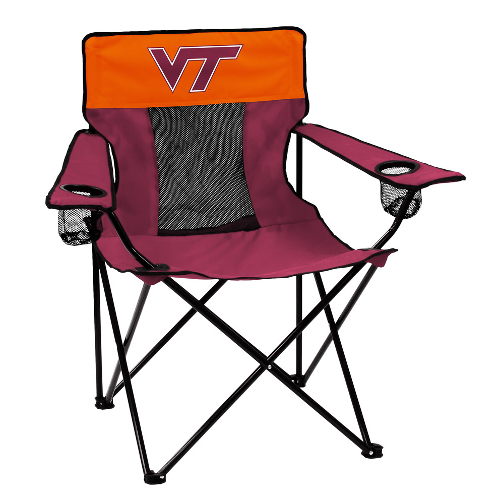 Virginia Tech Elite TailGate/Camping Chair