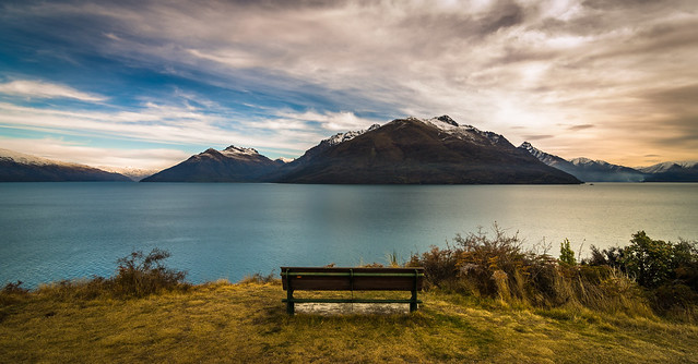 Seat with a view - New Zealand