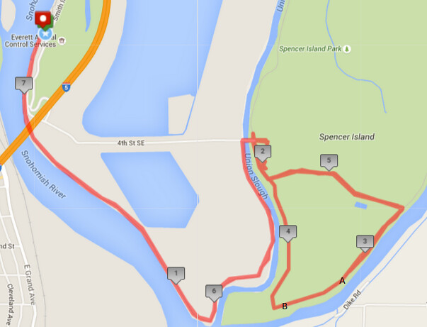 Today's awesome walk, 7.32 miles in 2:25, 15,749 steps