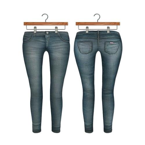 {MYNX} Skinny Jean - Medium Wash