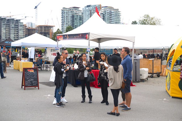 Food Cart Fest Vancouver | Olympic Village