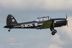G-BCSL - 1951 build De-Havilland Canada DHC-1 Chipmunk 22, circuit training at Barton