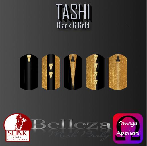 TASHI Black & Gold