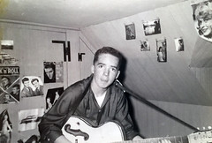 Chip Carlson rocking out on March 7, 1958