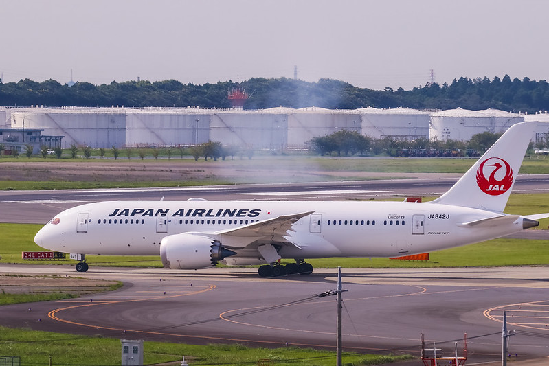 JA842J Boeing 787-8 Dreamliner Japan Airlines