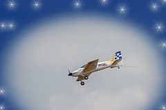 RC Plane with stars