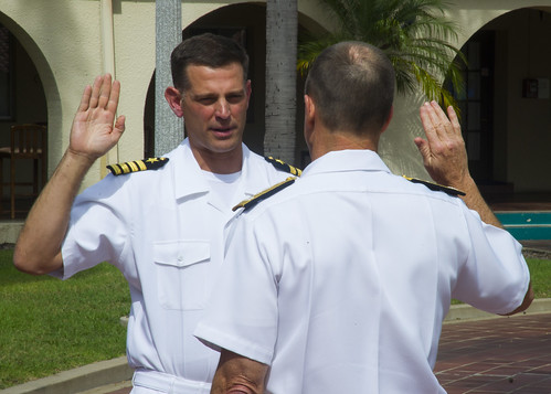Executive Officer of USS John P. Murtha Receives Promotion