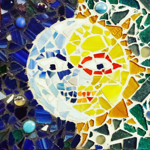 Happy Equinox to all! Mosaic by Ian Wilson