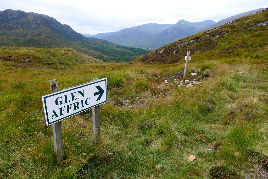 To Glen Affric