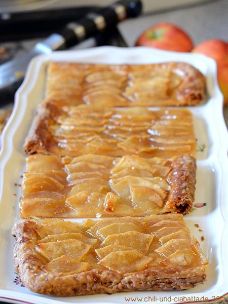 Apfelkuchen mit Salz-Karamell