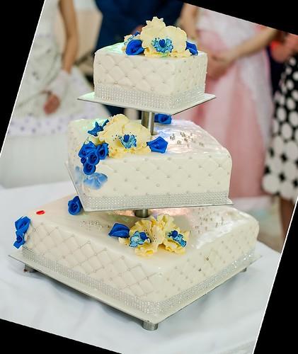 COLIBRI > Свадебный торт для Аркадия и Натальи