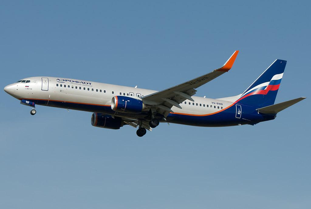 VQ-BWB - B738 - Aeroflot