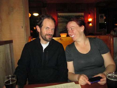Aftermath: Corey and Stefanie at McMenamin's
