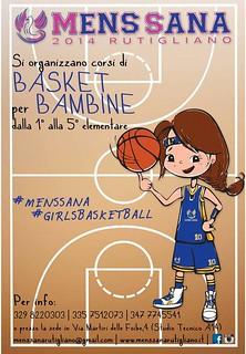 Rutigliano-La Rutigliano del Basket- Corsi di basket Mens Sana