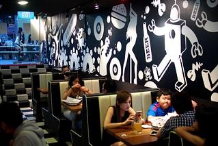 Fat Boys Burger, Far East Plaza, Singapore