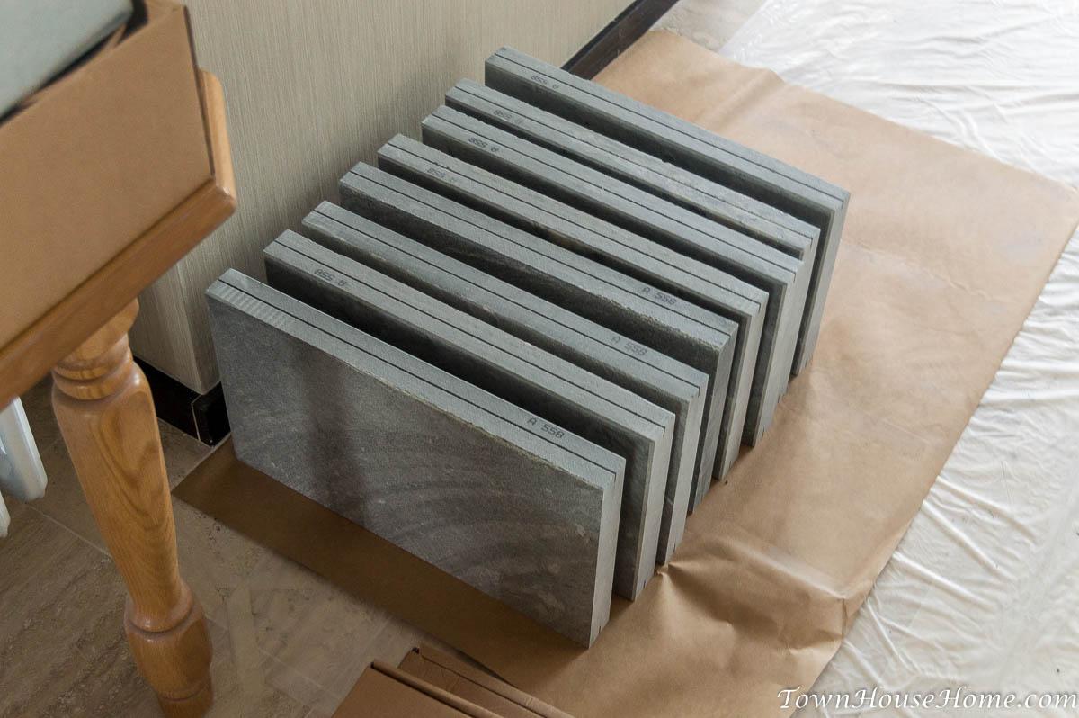 Soapstone fireplace stone delivery pt 2