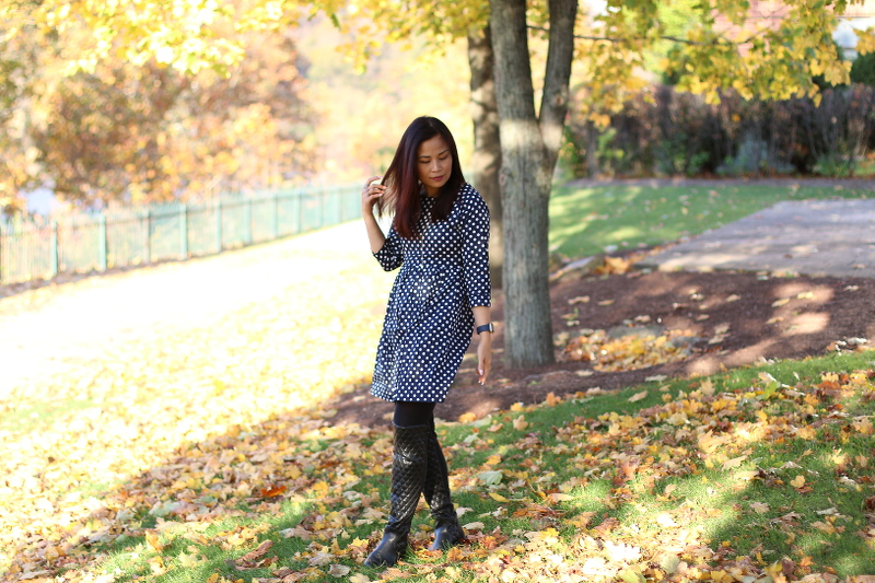 Polka-Dot-Dress-Lucluc-shop-over-the-knee-boots-4