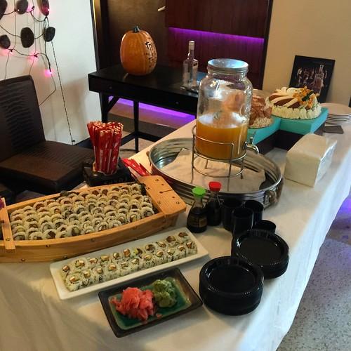 Fung Ku Sushi, Martin Miller Gin, Itsabundt Cake Miami Beach