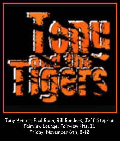 Tony and the Tigers 11-6-15