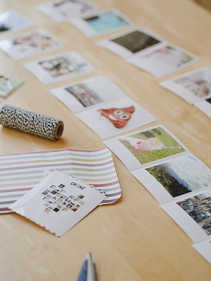 diy instagram photo garland 2