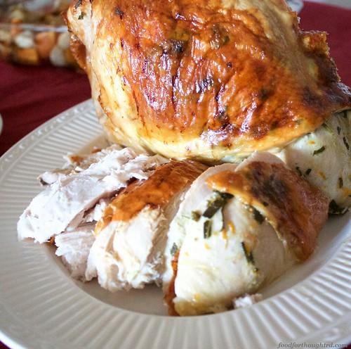 Citrus and Sage Roasted Turkey Breast
