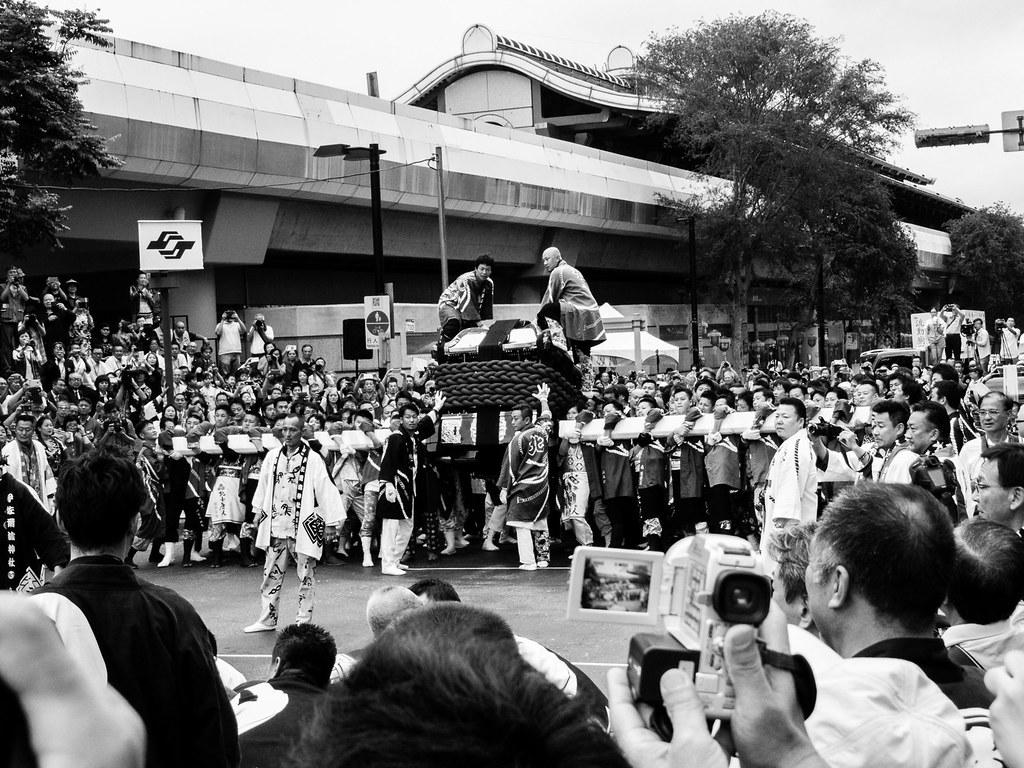 2015 北投溫泉季日本松山神轎祈福活動