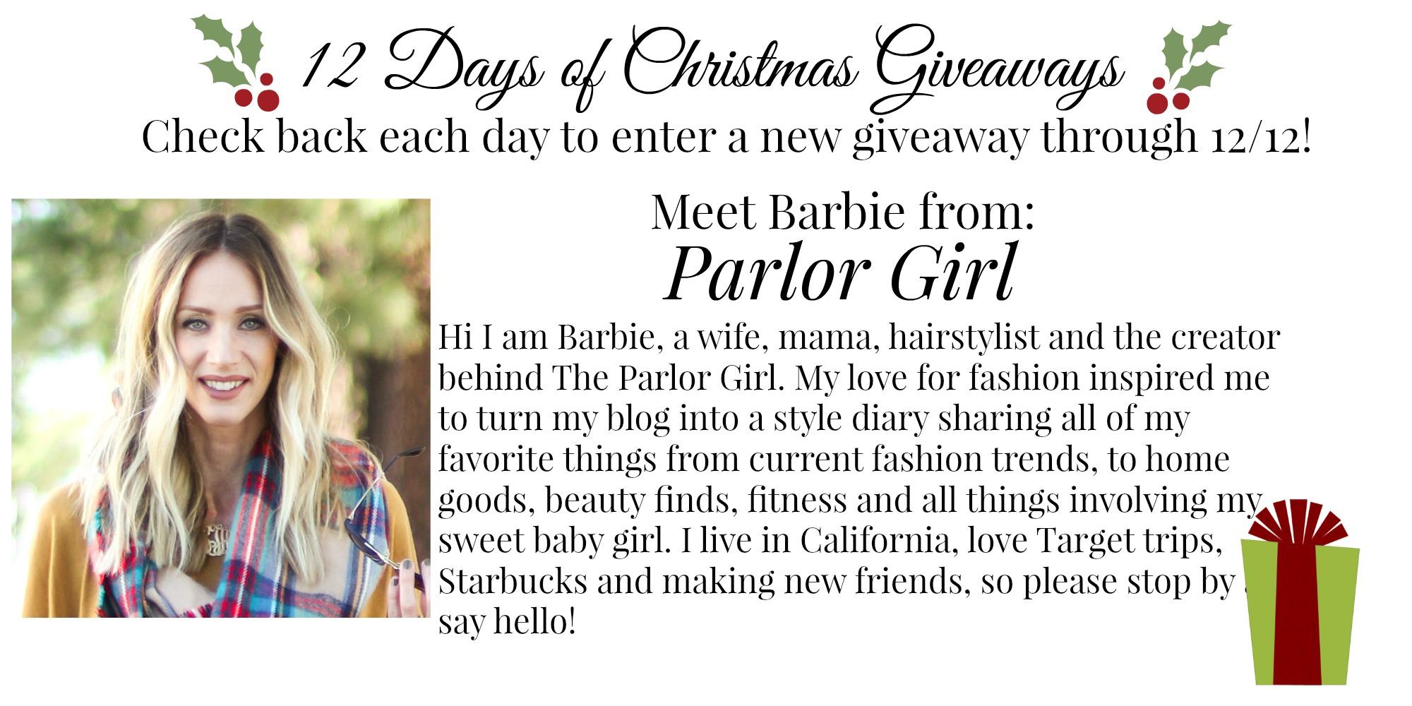 Barbie Parlor Girl