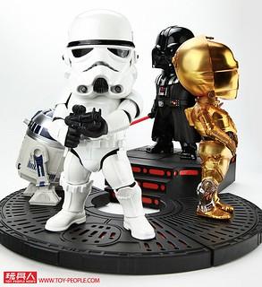銀河帝國勢力的具體象徵!Egg Attack《星際大戰》帝國風暴兵 雕像 開箱報告