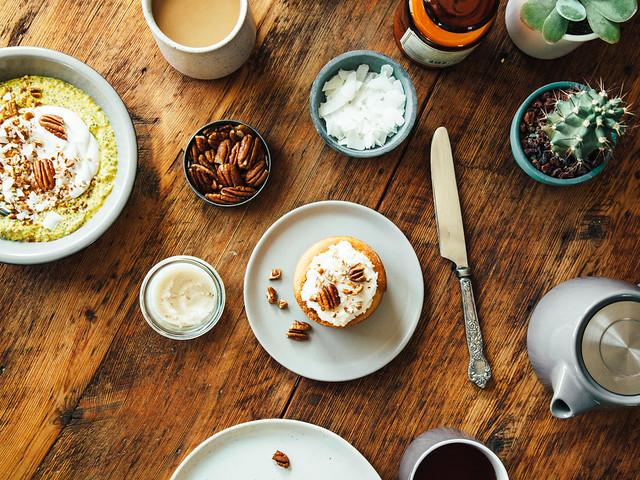 His + hers breakfast
