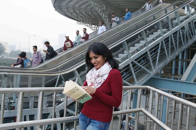 City Life – Divya Babu's Commute With Proust, Dalrymple, Lahiri, Delhi Metro & Huda City Center