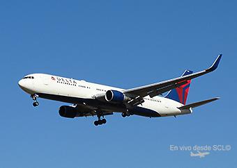 Delta Air Lines B767-300ER app (RD)