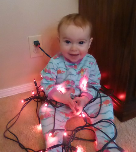 Christmasy Ezri lights