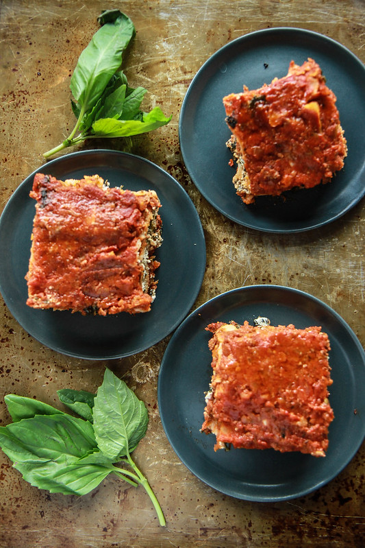 Lasagna- Gluten, dairy and egg free