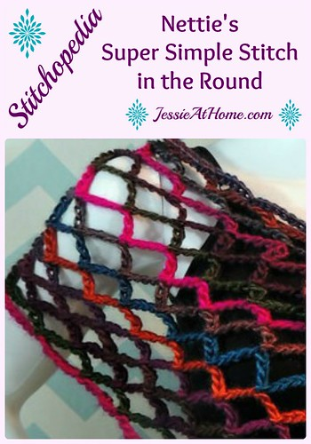 Nettie's Super Simple Stitch in the Round video tutorial from Jessie At Home