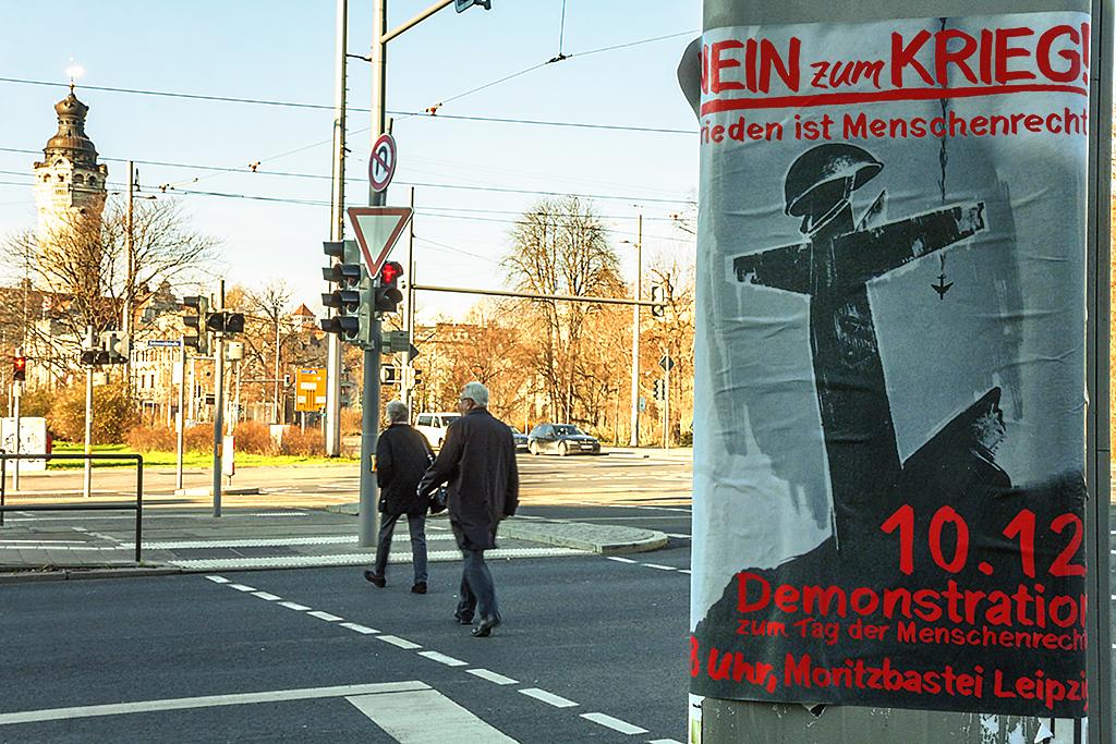NEIN ZUM KRIEG--Leipzig
