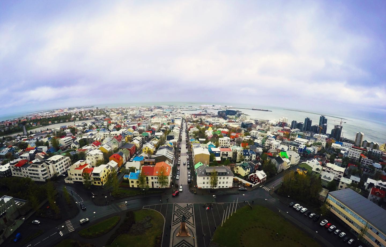 Rekjavik Islande