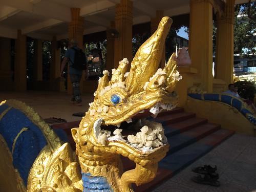 Vientiane: le temple Vat Mixay