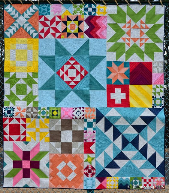 Modern Building Blocks Quilt